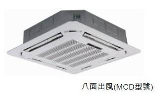 Midea MCD-36HRN1-Q 4HP Split Cassette-Type Air-Conditioner (Cooling & Heating)