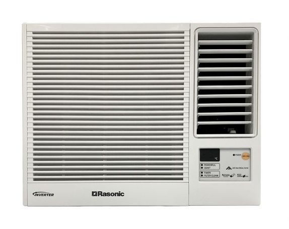 Rasonic RC-HZ90Y 1.0HP Inverter Heating/Cooling Window Air Conditioner (Remote Control)