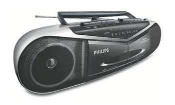 Philips AQ7170 Double-Cassette Recorder