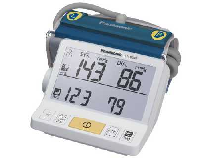 Panasonic EW-BU42W Upper Arm Blood Pressure Meter