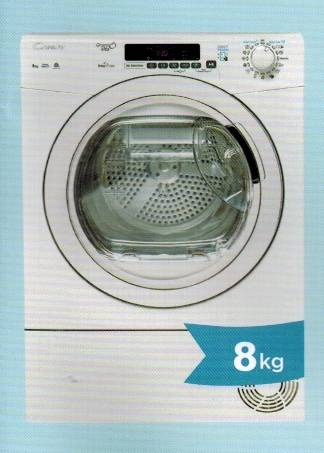 Candy GVSC8DE-S 8kg Condenser Dryer