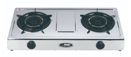 Giggas GA-209S(TG) Table-top Twin-burner Gas Hob (TownGas)