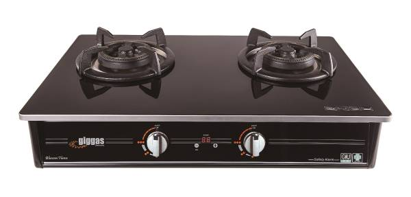 Giggas GA-969(LPG) Table-top Twin-burner Gas Hob (LP Gas)