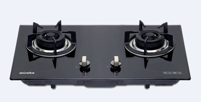 Misoko MS-703(TG) Built-in Double-Burner Gas Hob (Town Gas)