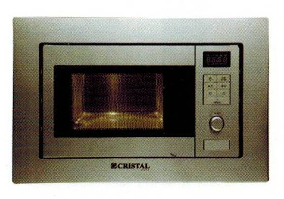 CRISTAL C20L-800BVV 20-litre Built-in Microwave Oven with Grill