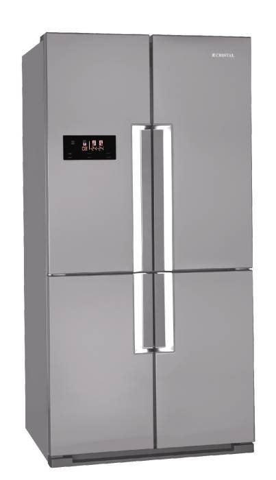 Cristal V910ES 620L Side-by-Side Refrigerator (4-Door)