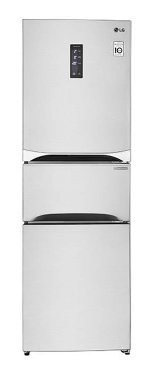 LG GC-B303SPHL 301-Litre Bottom Freezer 3-Door Refrigerator