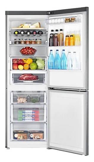 Samsung RB29FERNCS9/SH 286L 2-Door Refrigerator (Bottom Freezer / Sliver)