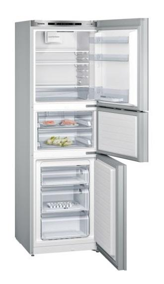 Siemens KG28UA290K 284L 3-Door Refrigerator (Bottom Freezer)