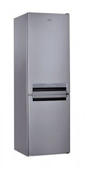 Whirlpool BSNF87620X 299-Litre 2-Door Refrigerator (Bottom-freezer / Right-hinge)