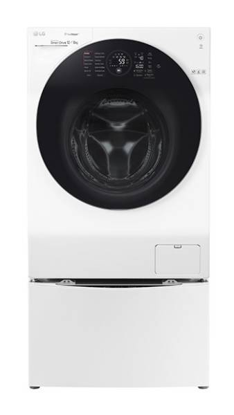 LG TWINWASH-G 12kg 1600rpm 4-in-1 TrueSteam Washer-Dryer