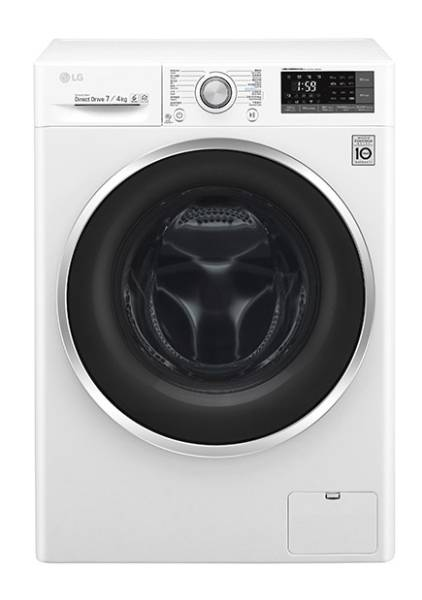 LG WF-C1207C3W 7kg 1200rpm Front Loading Washer-Dryer