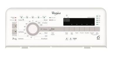 Whirlpool TDLR70110 7kg 1000rpm Top-Loading Washer