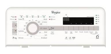 Whirlpool TDLR70810 7kg 850rpm Top-Loading Washer