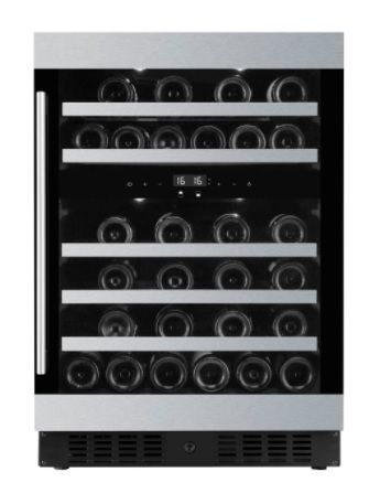 AAVTA AWC54D 45-bottle Dual-zone Wine Cooler